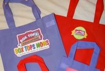 Box Tops and Labels / Tips and ideas for successful Box Tops and label collection programs.