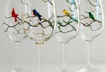 Painting on glass / by Lynn Gresh-Whittaker