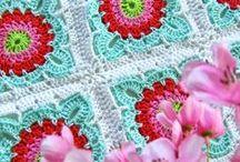 Crochet Square Motifs / by Linda