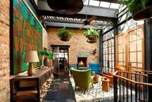 Lofts/Industrial Chic/Warehouse Conversions / My ultimate dream home!  Exposed brick, unfinished ceilings...so much character! / by Linda