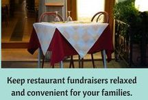Restaurant Nights / Tips and ideas for running a successful restaurant fundraiser for your school. Sharing for our sister site, www.restaurant-fundraisers.com