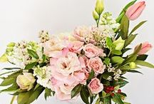 Spring Wedding Ideas / Buds and blooms and brighter hues.