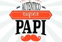 Especial Día del Padre / Un montón de regalos divertidos y originales para papá. Descubre el nuevo Kit 100 por ciento Auténtico Super Papi en tres idiomas; castellano, catalán e inglés.