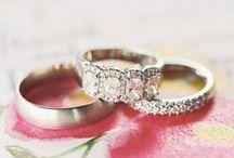 Wedding Rings / Wedding ring inspiration.