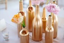 Wedding DIY / DIY ideas to add a personal touch to your wedding and keep within your budget.