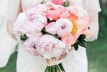 Wedding Flowers / Flower inspiration for the perfect wedding.