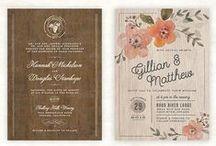 Wedding Invitations / Wedding invitation inspiration for any budget.
