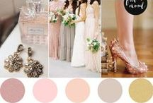 Wedding Colors / Color inspiration for the perfect wedding.