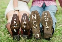Save the Date / The best ideas for your Save the Date announcements...fun photo inspiration!