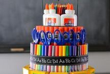 Supply Cakes for Teachers / Here's a great idea for teacher appreciation!