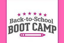 PTO Today  Boot Camp! / Everything PTOs and PTAs need to have a great back-to-school season.