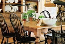 Dining Rooms and Dining Areas / Dining room inspiration, usually featuring a great farmhouse table to gather around.