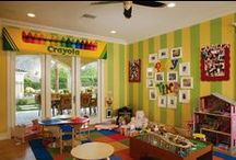 ~*Playroom*and*Beyond*~ / Beyond the nursery ~ other kid-inspired rooms that I love! / by Sarah Dugan
