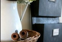 Accessories, Vignettes and Decorating Tips / by Blue Clear Sky Elizabeth Ramage