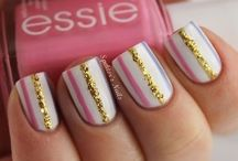 Nail designs / Here are some of my favorite nail colors, patterns, designs, and polishes! / by Abby Bishop