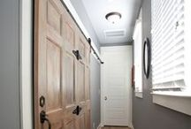 Entry and Hallways and Mudrooms