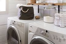Laundry Rooms and Spaces / Ideas for laundry rooms from small to big.