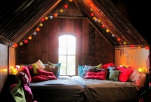 Home Sweet Home / My industrial, boho, hippie chic, treehouse, converted warehouse, someday home. ...or my eclectic taste.