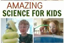Cool Science Experiments / Great Science experiments for kids and other family members.