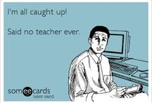 """When I Teach / """"Anyone who knew anything about the crap this job comes with would never become a teacher, but I don't regret it for a second""""  / by Nicole Michael"""