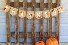 ~*A*Season*of*Thankfulness*~ / wrapping up fall w/ my favorite holiday ... food, fun, family ... all leading into the most festive time of the year! / by Sarah Dugan