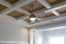 Wood Plank Walls, Shiplap, Trim and Millwork / Ideas and DIY for adding architectural interest and value to a home with wood plank walls, board and batten, millwork and trim details, and details on ceilings.
