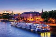 River Cruises / Intimate, small, boutique ships.  Limited Passengers. Dock to village walks.  Amazing trips!