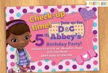 ~*Doc*McKena*~ / my baby girl's 3rd birthday party! / by Sarah Dugan