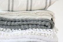 Blankets + Pillows