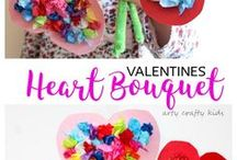 Valentines Craft for kids / Get crafty and make Valentines special! Kids can create adorable Crafts for Valentines!!
