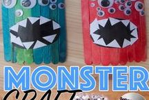 Crafts For Kids / Craft for kids to make and create. Easy Kids Crafts | Paper Crafts | Egg Box Crafts | Paper Plate Crafts | TP Roll Crafts and many more!! Getting messy with PVA glue and creating something that they can play with!