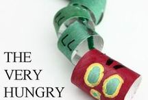 The Very Hungry Caterpillar Activities for kids / You can create so many different crafts for The Very Hungry Caterpillar (Eric Carle)!! Egg Carton Crafts, TP Roll Crafts, Paper Plate Crafts, Paper Crafts and many more. Fun and Easy Crafts for Boys and Girls.