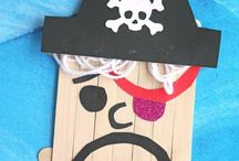 Pirate & Fairy Crafts for Kids / Get crafty with this section of Pirate & Fairies. You can create so many crafty things for a Fairy or Pirate. Fairy wands, pirate boats, pirate and fairy loo rolls, butterfly wings, fairy houses, treasure chests, fairy castles...... cool crafts and more :))