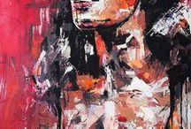 A R T - B Y - V A G N E L I N D / Art made by Swedish artist VAGNELIND