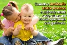 Eu ♥ Irmãos / Irmãos são nossos melhores amigos. Frases, citações e artigos relacionados a irmãos. ♥