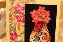 Cards & trims / by Marlene Kluper