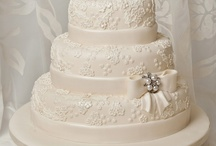 Cakes, Cakes & More Cakes!  / Cake inspiration for your big day! Be sure to check out our wide selection of items for your cake table on our website: www.chaircoverfactory.com! We know these cakes would look beautiful atop any of our linens or Silver Cake Plateaus! Happy Pinning!