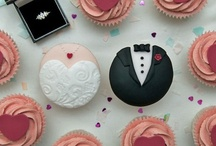 Cupcakes!  / Be sure to visit our website: www.chaircoverfactory.com to view all of our accessories to coordinate your big day!  Our items are available for less then HALF what you'll pay other websites!