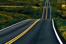 Way ahead... / Way to travel.... / by Mats Skanby