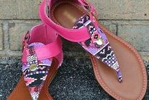 Summer Footwear / Summer shoes for all occasions.
