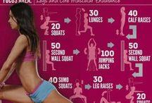Fitness inspiration / by Tiffanie Trudeau
