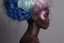 Color Me Crazy! / Awesome crazy color styles on African American women! Protect your colored hair with natural products from www.TreasuredLocks.com
