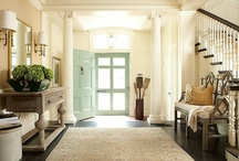 Foyer | Hallways / by erika blank @ style me green