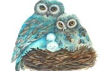 Lovely Animal Art / Nature art featuring birds, pets and other precious animals
