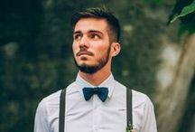 * Le marié ** Mister Groom * / Cravates, vestes, chaussettes, noeuds papillons, boutons de manchette... Une sélection de vêtements et d'accessoires pour le marié parfait. Retrouvez plus d'inspiration mariage et Lifestyle sur www.lafianceedupanda.com *** Ties, suits, jackets man, bow ties, cufflinks ... A selection of clothing and accessories for the perfect groom. More lifestyle and wedding inspirations on www.lafianceedupanda.com / by La Fiancée du Panda