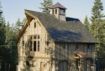 Exterior/Structure/Houses/Barns / Exterior Design-Structure-House Plans-Siding-Roofing-Materials- / by Linda Barnett