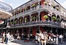 New Orleans / My favorite city in the world! I love just walking around, listening to the jazz, eating the best food in the world, the lovely architecture, ornate wrought iron, majestic trees, watching the people...  I could go on & on!  / by Melanie Ford