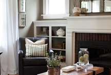 Fireplace | Mantel / by erika blank @ style me green