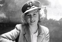 House of Windsor:  Princess Elizabeth / Elizabeth Alexandra Mary (b. 21 April 1926).  Daughter of Prince Albert, Duke of York (later King George VI), and his wife, Elizabeth Bowes-Lyon. Elder sister to Princess Margaret.