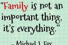 ❤Family❤ That's all I will ever NEED / God Blesses us with a beautiful Family that loves unconditional❤ / by Amber AC